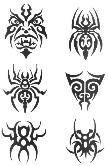 татуировки трайбл (11)