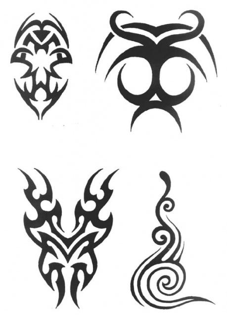 татуировки трайбл (10)