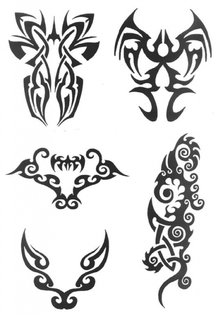 татуировки трайбл (9)