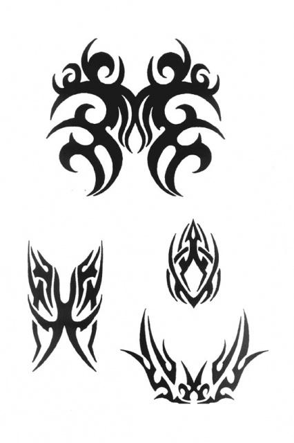 татуировки трайбл (7)