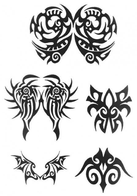 татуировки трайбл (6)