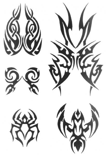 татуировки трайбл (5)