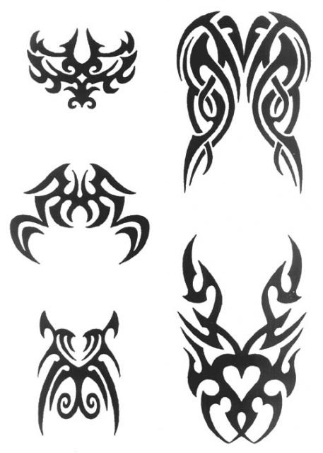 татуировки трайбл (4)