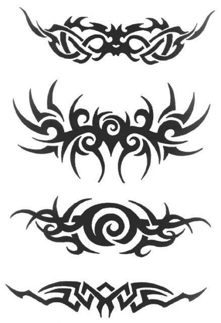 татуировки трайбл (3)