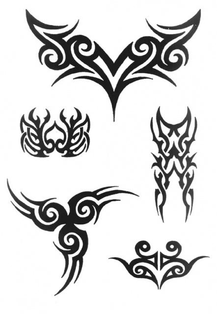 татуировки трайбл