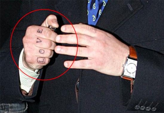 татуировки Робби Уильямса (7)