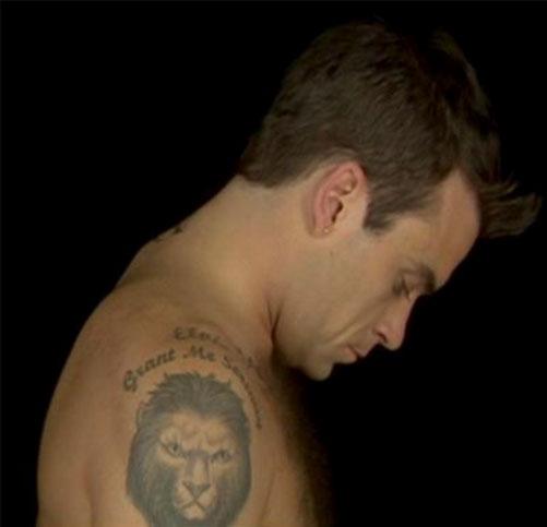 татуировки Робби Уильямса (6)