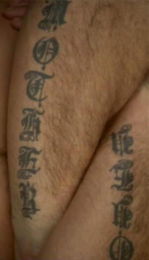 татуировки Робби Уильямса на руке