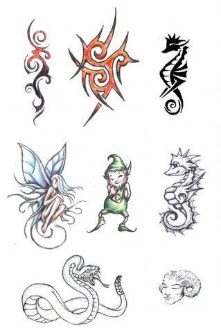 эскиз татуировка