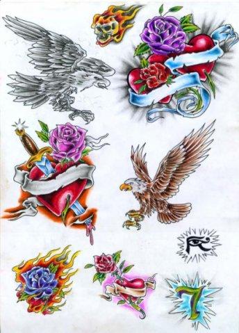 татуировки эскизы (43)