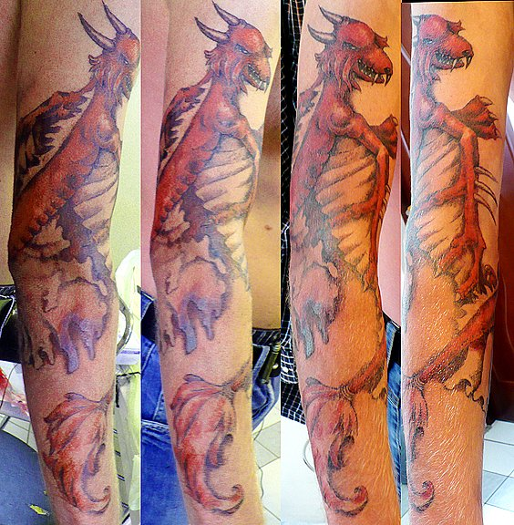 Татуировки цветные (7)
