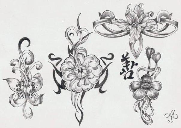 тату цветов (8)