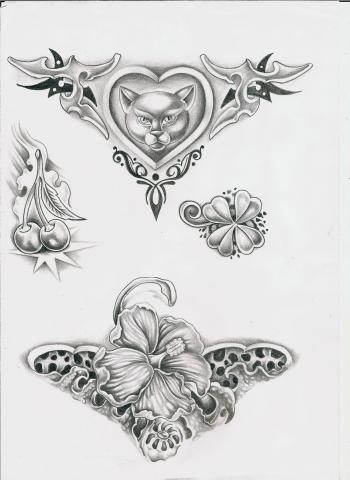 татуировки эскизы (12)