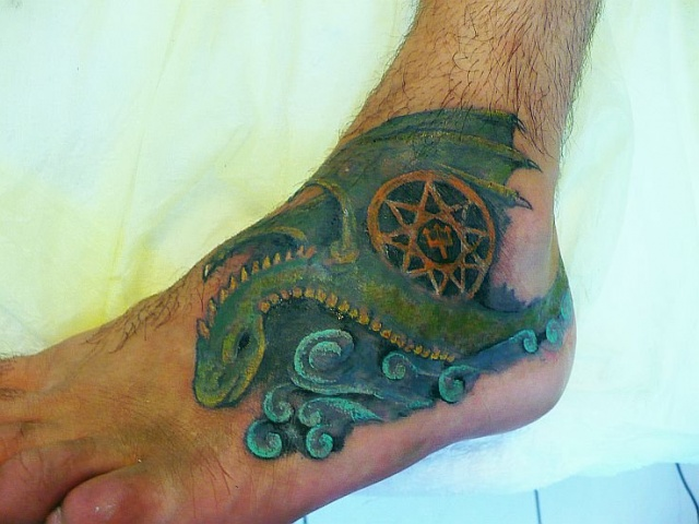 Татуировки цветные (5)
