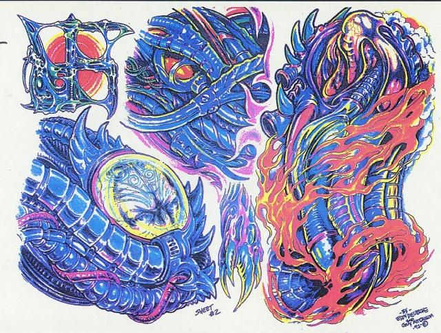 эскизы татуировок цветные (1)