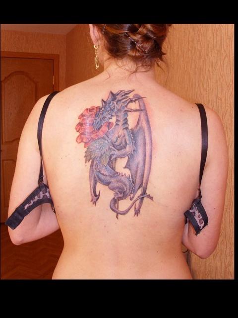 Татуировки цветные (3)