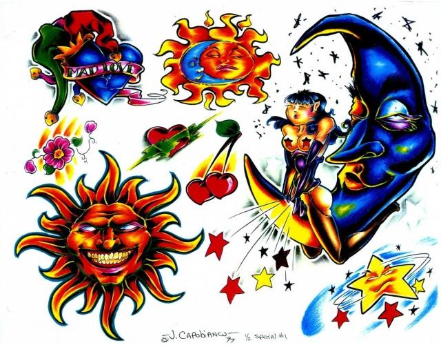 эскизы татуировок (4)