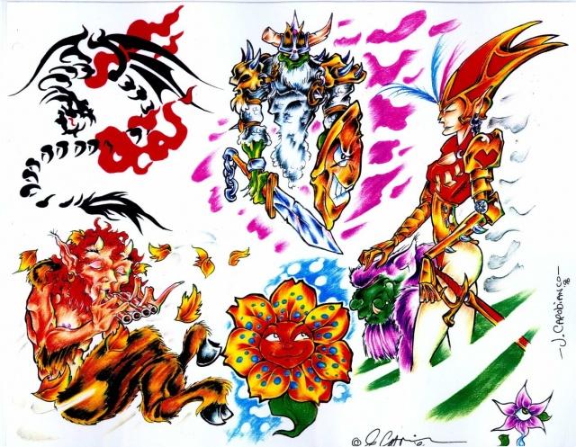 эскизы татуировок (3)