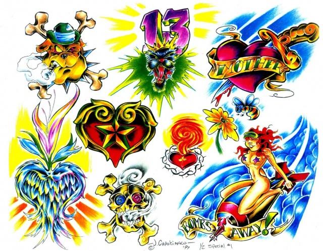 эскизы татуировок (2)