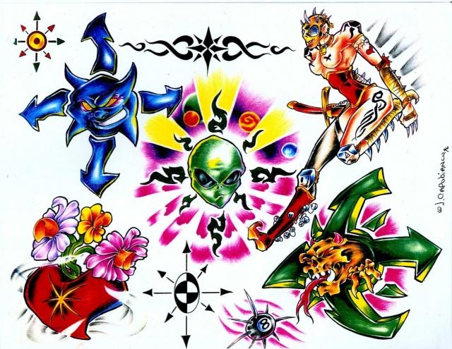 эскизы татуировок (20)