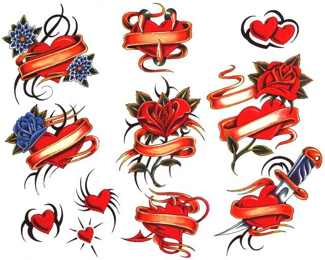 татуировки подарки на день святого валентина