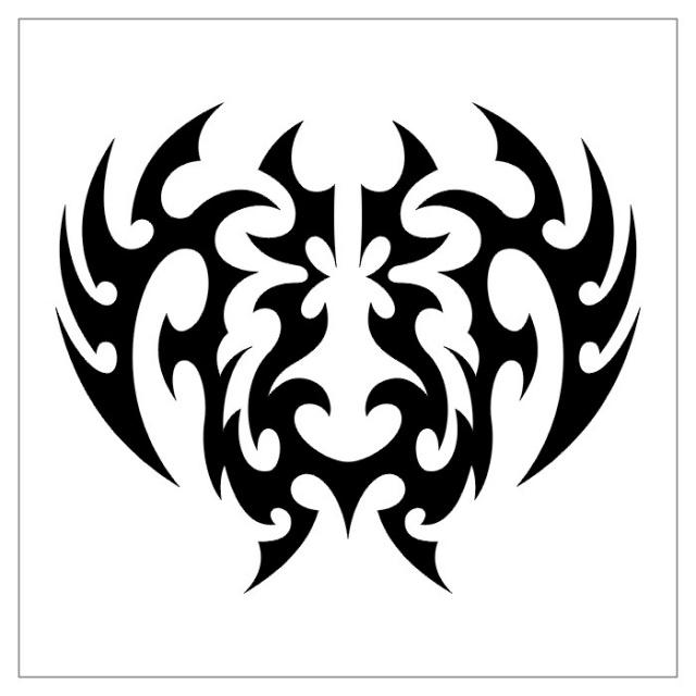 татуировки эскизы трайбл (29)