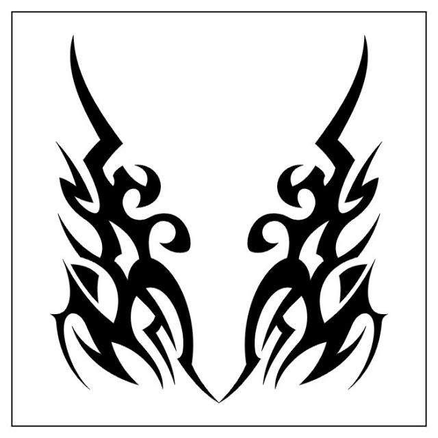 татуировки эскизы трайбл (27)