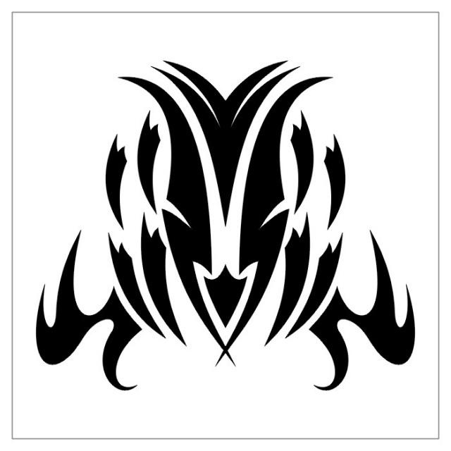 татуировки эскизы трайбл (26)