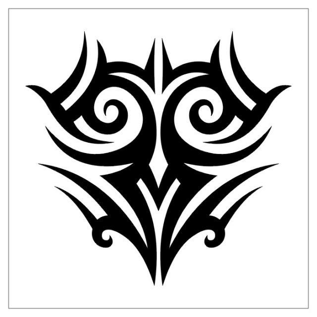 татуировки эскизы трайбл (25)