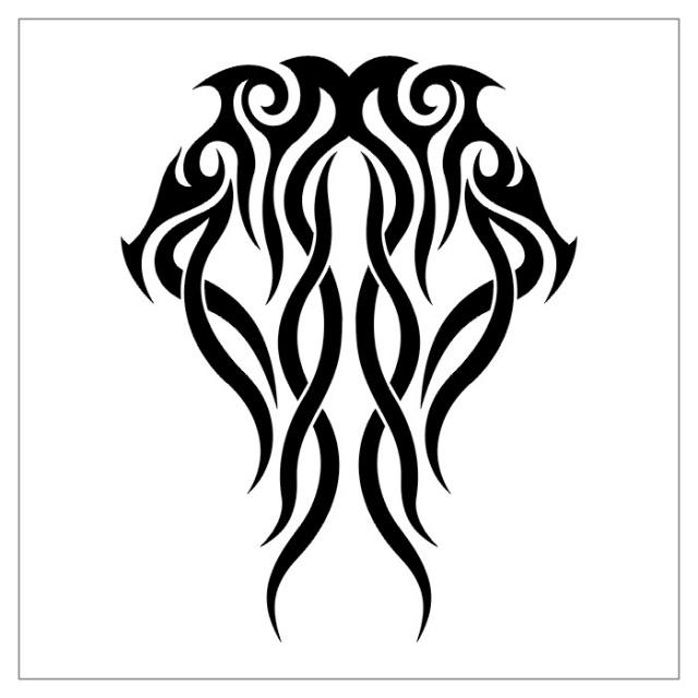 татуировки эскизы трайбл (23)