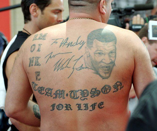 Спортивные татуировки фанатов (30)