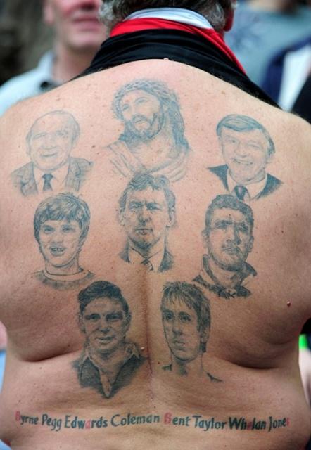 Спортивные татуировки фанатов (29)