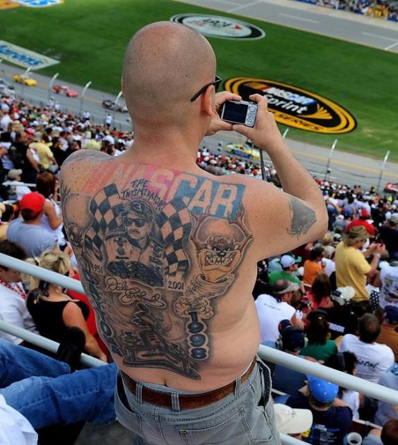 Спортивные татуировки фанатов (27)