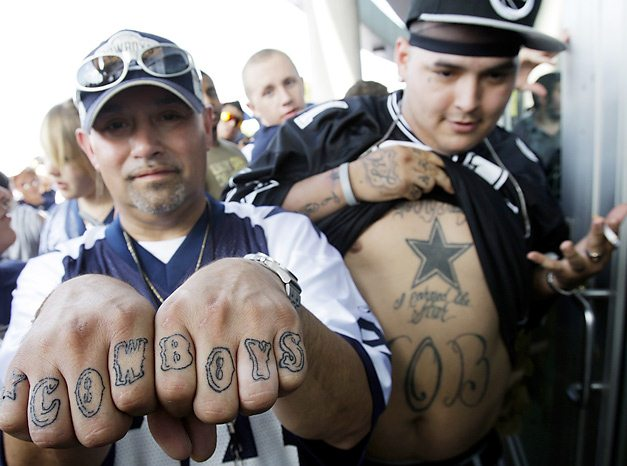 Спортивные татуировки фанатов (11)