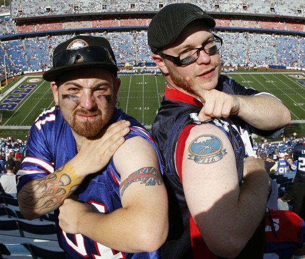 Спортивные татуировки фанатов (7)