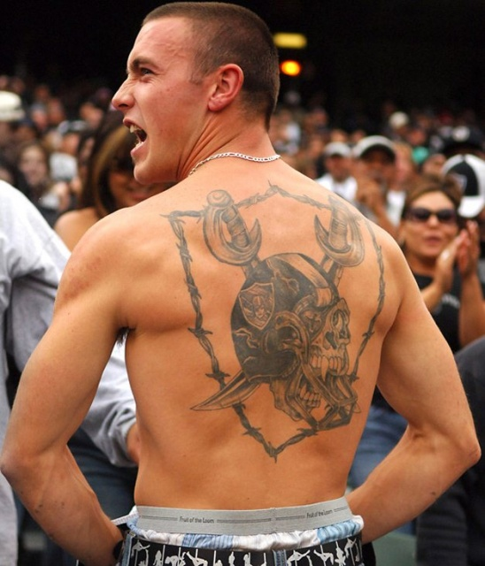 Спортивные татуировки фанатов (6)