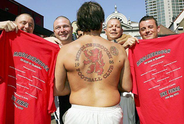 Спортивные татуировки фанатов (24)