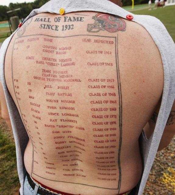 Спортивные татуировки фанатов (23)