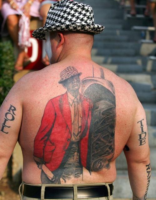 Спортивные татуировки фанатов (20)
