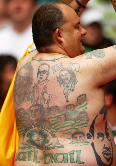 Спортивные татуировки фанатов (19)