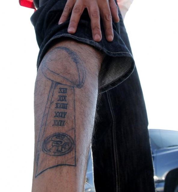 Спортивные татуировки фанатов (5)