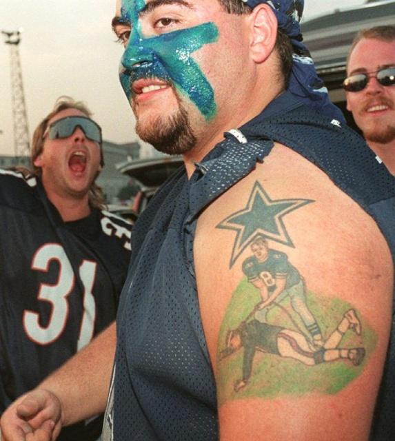 Спортивные татуировки фанатов (4)