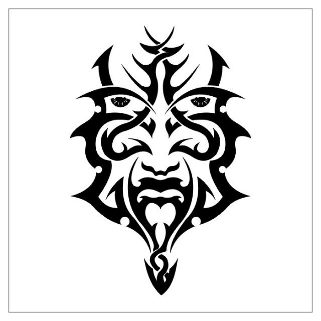 татуировки эскизы трайбл (18)