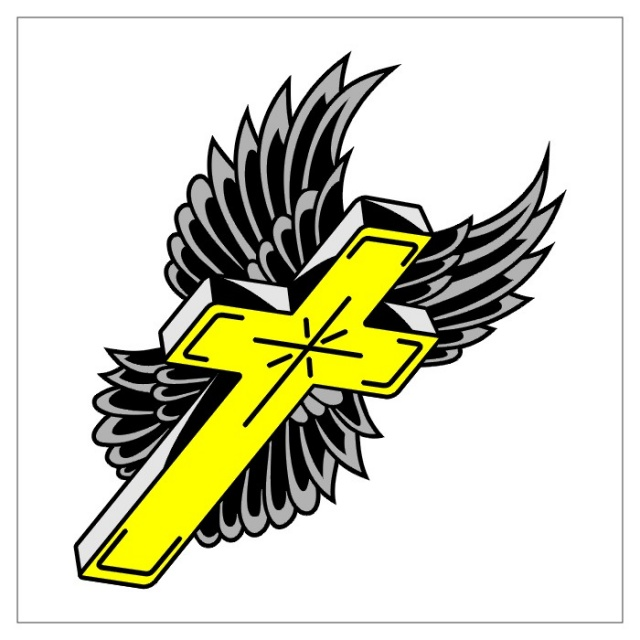 татуировки в виде креста