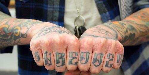 татуировки на пальцах (8)