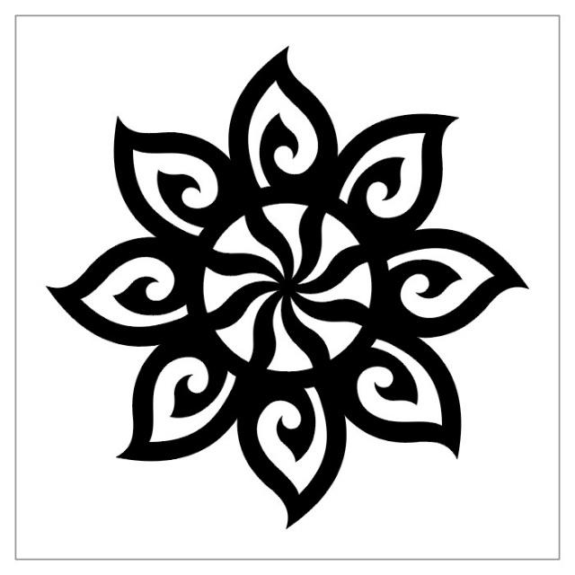 татуировки эскизы трайбл (13)