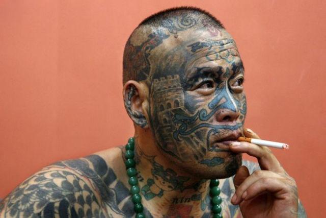 татуировки на голове (6)