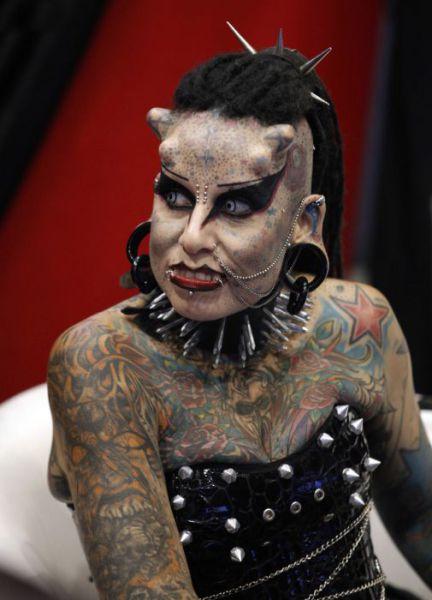 татуировки на голове (3)