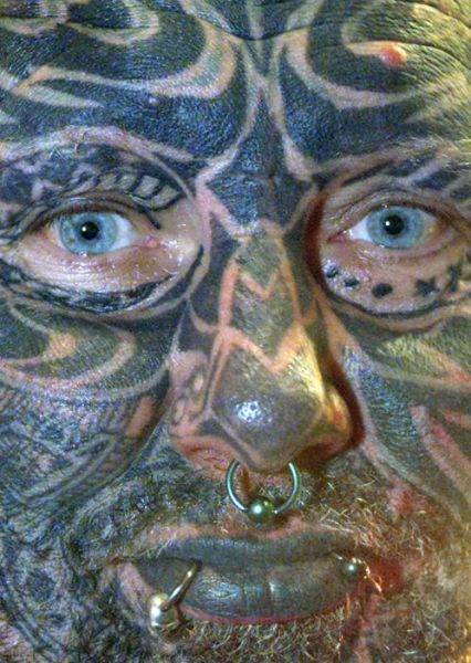 татуировки на голове (2)