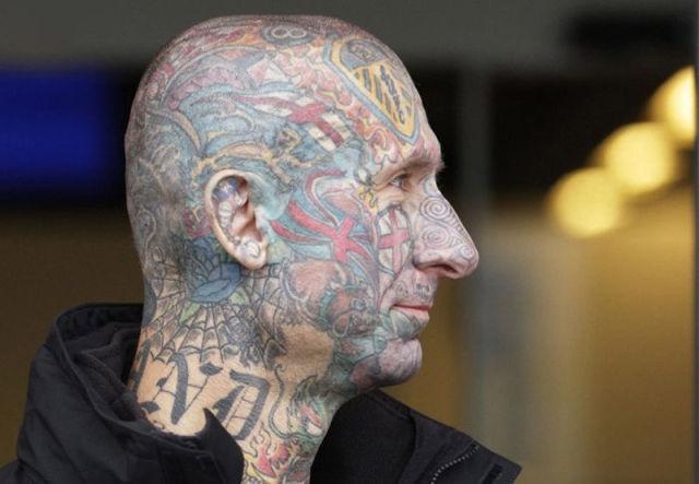 татуировки на голове (14)